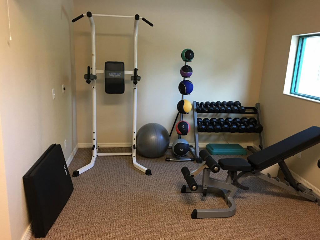 photo of fitness equipment